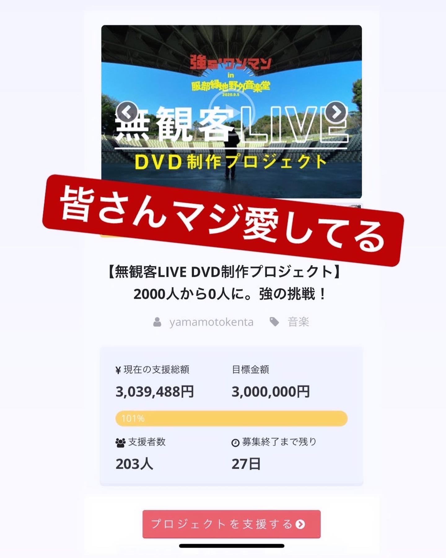 クラウドファンディング達成!!